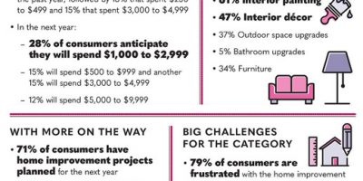 Home Improvement Facts & Stats [Infographic]