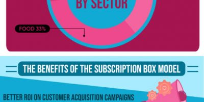 The Subscription Box Model Explained [Infographic]